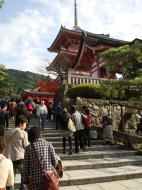 Asisbiz Otowa san Kiyomizu dera main hall shrine room Nov 2009 27