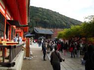 Asisbiz Otowa san Kiyomizu dera main hall shrine room Nov 2009 29