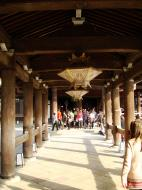 Asisbiz Otowa san Kiyomizu dera main hall shrine room Nov 2009 33