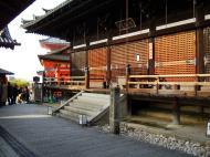Asisbiz Otowa san Kiyomizu dera main hall shrine room Nov 2009 39