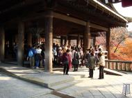 Asisbiz Otowa san Kiyomizu dera main hall shrine room Nov 2009 43