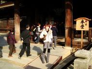 Asisbiz Otowa san Kiyomizu dera main hall shrine room Nov 2009 44