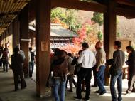 Asisbiz Otowa san Kiyomizu dera main hall shrine room Nov 2009 46
