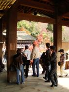 Asisbiz Otowa san Kiyomizu dera main hall shrine room Nov 2009 47