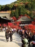Asisbiz Otowa san Kiyomizu dera main hall shrine room Nov 2009 50