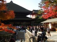 Asisbiz Otowa san Kiyomizu dera main hall shrine room Nov 2009 52