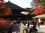 Asisbiz Otowa san Kiyomizu dera main hall shrine room Nov 2009 52