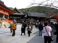 Asisbiz Otowa san Kiyomizu dera main hall shrine room Nov 2009 55