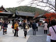 Asisbiz Otowa san Kiyomizu dera main hall shrine room Nov 2009 56