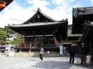 Asisbiz Otowa san Kiyomizu dera main hall shrine room Nov 2009 57