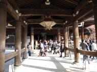 Asisbiz Otowa san Kiyomizu dera main hall shrine room Nov 2009 58