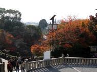 Asisbiz Otowa san Kiyomizu dera solar clock Kyoto Japan Nov 2009 02