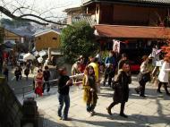 Asisbiz Otowa san Kiyomizu dera street walk Kyoto Nov 2009 08