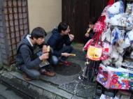 Asisbiz Otowa san Kiyomizu dera street walk Kyoto Nov 2009 19