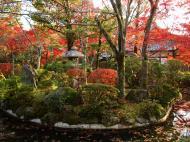 Asisbiz Otowa san Kiyomizu dera temple gardens Kyoto Nov 2009 02