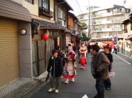 Asisbiz Traditional Japanese Komono Costumes Kiyomizu dera Kyoto Nov 2009 03