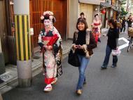 Asisbiz Traditional Japanese Komono Costumes Kiyomizu dera Kyoto Nov 2009 05