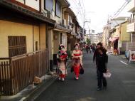 Asisbiz Traditional Japanese Komono Costumes Kiyomizu dera Kyoto Nov 2009 06