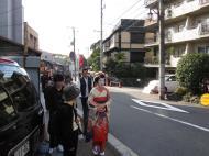 Asisbiz Traditional Japanese Komono Costumes Kiyomizu dera Kyoto Nov 2009 08