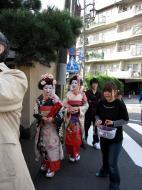 Asisbiz Traditional Japanese Komono Costumes Kiyomizu dera Kyoto Nov 2009 09