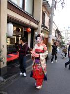 Asisbiz Traditional Japanese Komono Costumes Kiyomizu dera Kyoto Nov 2009 11
