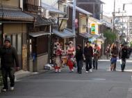 Asisbiz Traditional Japanese Komono Costumes Kiyomizu dera Kyoto Nov 2009 12