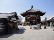 Asisbiz Kofuku ji Temple Architecture South octagonal hall Nara Japan 01