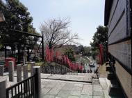 Asisbiz Kofuku ji Temple Sanjodori street entrance world heritage site Nara 01