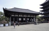 Asisbiz Kofuku ji Temple Tokon do Hall world heritage site Nara Japan 01