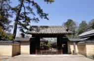 Asisbiz Kofuku ji Temple area walk way to the Nara National Museum entrance 01