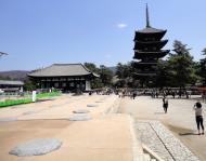 Asisbiz Tokon do Hall and adjoining five story pagoda Nara Japan 03