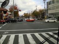 Asisbiz Kyoto City Bus ride to Kinkaku ji Temple and Zen Gardens Japan Nov 2009 20