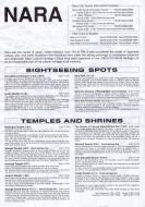 Asisbiz 0 Nara city tourist information brochure 0A