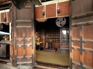 Asisbiz Japanese architectural style Nigatsu do hall balcony pine doors structure 2010 01