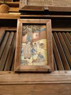 Asisbiz Nigatsu do etched wooden paintings this one is of Japanese head monk Nara 02
