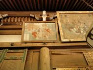 Asisbiz Nigatsu do etched wooden paintings this one is of Japanese paying homage Nara 01