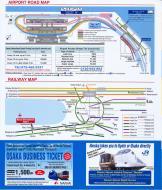 Asisbiz 0 KIX Road Map 0saka Japan Brochure Nov 2009
