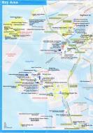 Asisbiz 0 Osaka Bay Area Railway and Subway Map Brochure Nov 2009
