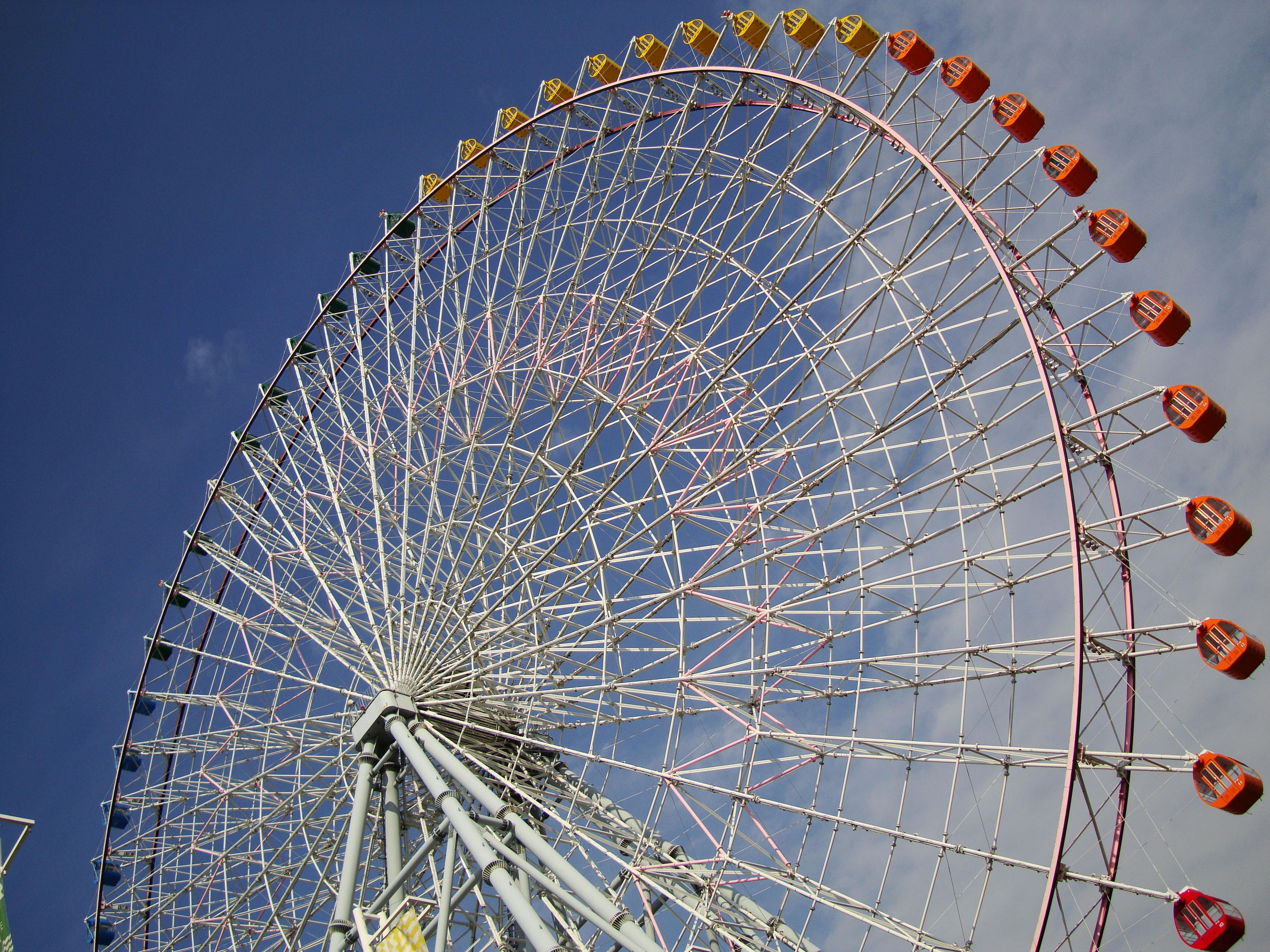 Картинки колесо обозрения в японии