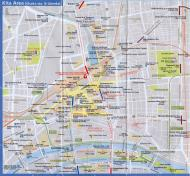 Asisbiz 0 Kita Area Railway and Subway Map Brochure Nov 2009