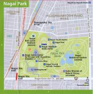 Asisbiz 0 Nagai Park Area Railway and Subway Map Brochure Nov 2009