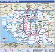 Asisbiz 0 Osaka Railway and Subway Map Brochure Nov 2009