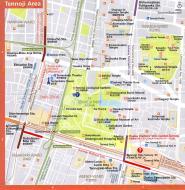 Asisbiz 0 Tennoji Area Railway and Subway Map Brochure Nov 2009