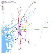 Asisbiz 0 Wide Area Map Osaka City Subway