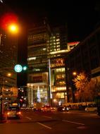 Asisbiz Osaka City night street scenes Japan Nov 2009 01