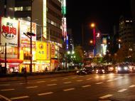 Asisbiz Osaka City sign boards advertising Japan Nov 2009 01