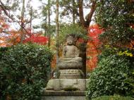 Asisbiz Rokuon ji Temple Gardens main Buddha Kyoto Japan Nov 2009 02