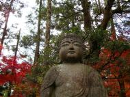 Asisbiz Rokuon ji Temple Gardens main Buddha Kyoto Japan Nov 2009 03
