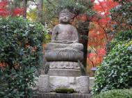 Asisbiz Rokuon ji Temple Gardens main Buddha Kyoto Japan Nov 2009 06
