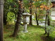 Asisbiz Rokuon ji Temple Zen Garden ornate sculptures Kyoto Japan Nov 2009 03